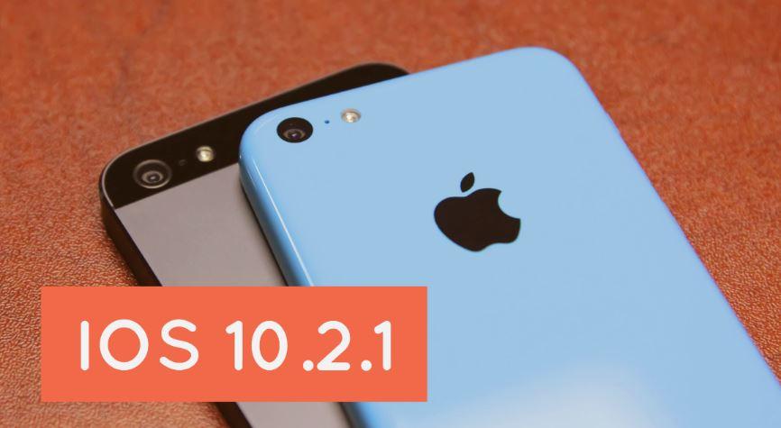 actualizacion ios 10.2.1